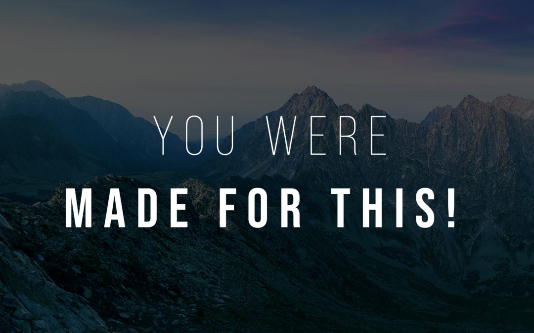 You Were Made For This – Part 2