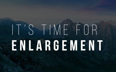 It's Time For Enlargement