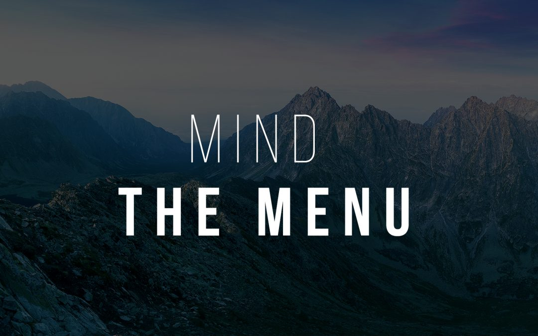 Mind The Menu